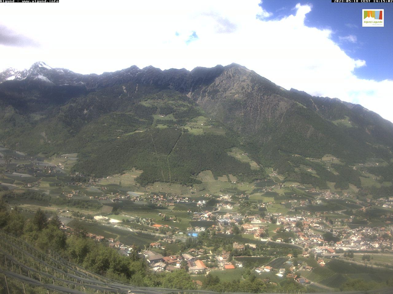 Webcam mit Blick Richtung Algund